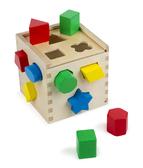 Сортировочный куб Shape Sorting Cube, Melissa & Doug от Melissa & Doug