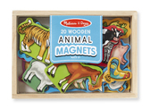 Фигурки животных на магнитах Magnetic Wooden Animals, Melissa & Doug