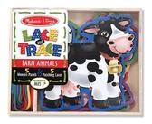 Шнуровка Ферма Lace & Trace Farm, Melissa & Doug от Melissa & Doug