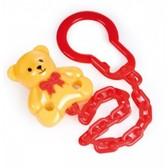 Держатель для пустышки Медвежонок желтый, Canpol babies, желтый от Canpol babies