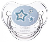 Пустышка Newborn baby силиконовая анатомическая, голубая с звездочками, 6-18 мес, Canpol babies, голубая с звездочками от Canpol babies