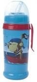 Бидончик-поильник с силиконовой трубочкой синий 350 мл (пират), Canpol babies, синий пират от Canpol babies