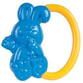 Погремушка Зайчик (синий с желтой ручкой), Canpol babies, желтая ручка от Canpol babies