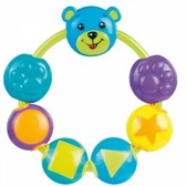 Погремушка Мишка с бусинками (синий), Canpol babies, бирюза от Canpol babies