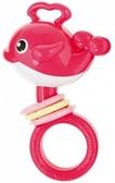 Погремушка Рыбка-кит (розовая), Сanpol, розовый от Canpol babies