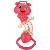 Погремушка Червячок (розовый), Canpol babies, малинов. от Canpol babies