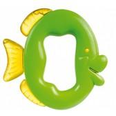 Погремушка-зубогрызка Зверьки (салатовая рыбка), Canpol babies, рыбка салат. от Canpol babies