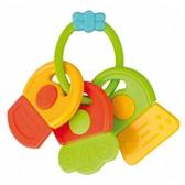 Погремушка-зубогрызка Ключики (салатово-оранжевая), Canpol babies, салат. оранж. от Canpol babies