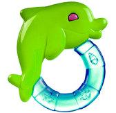 Погремушка-зубогрызка Зверьки (дельфин салатовый), Canpol babies, дельфин салат. от Canpol babies