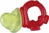 Погремушка-зубогрызка Зверьки (бегемотик красный), Canpol babies, бегемот красн. от Canpol babies