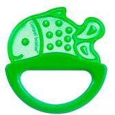 Погремушка-зубогрызка рыбка (салатовая), Canpol babies, рыбка салат. от Canpol babies