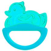 Погремушка-зубогрызка рыбка (голубая), Canpol babies, утка голубая от Canpol babies