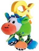 Мягкая вибрирующая игрушка-подвеска Корова, Canpol babies, корова от Canpol babies