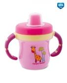 Поильник с ручками и колпачком, Розовый, Canpol babies, розовый от Canpol babies