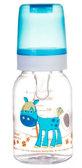 Тритановая бутылочка 120 мл (голубая), Canpol babies, голубая крышка от Canpol babies