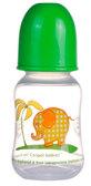 Бутылочка с узким горлышком, 120 мл, салатовая,  Canpol babies, салат. от Canpol babies