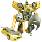 Робот-трансформер - TOYOTA SUPRA (1:18)
