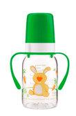Бутылочка для кормления Ферма 120 мл (салатовый зайчик), Canpol babies, салат. от Canpol babies