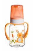 Бутылочка для кормления Ферма 120 мл (желтый зайчик), Canpol babies, желтая от Canpol babies