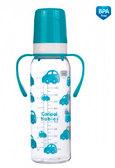 Тритановая бутылочка 250 мл с ручками (бирюзовая), Canpol babies, бирюза от Canpol babies