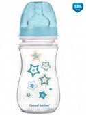 Антиколиковая бутылочка с широким горлышком EasyStart Newborn baby 240 мл (звездочки), Canpol babies, звезды от Canpol babies