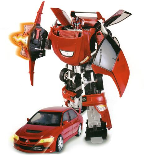 Робот-трансформер - MITSUBISHI EVOLUTION VIII (1:18)