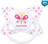 Пустышка Каникулы, силиконовая симметричная, с бабочкой, 6-18 мес, Canpol babies, бабочка от Canpol babies