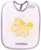 Слюнявчик хлопчато-клеенчатый Лошадка, набор 3 шт., Canpol babies, лошадка от Canpol babies