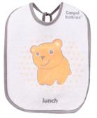 Слюнявчик хлопчато-клеенчатый Медведик, набор 3 шт., Canpol babies, медвежонок от Canpol babies