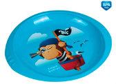 Тарелка пластиковая (270 мл) Пирати, Canpol babies, бирюз. сова от Canpol babies
