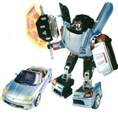 Робот-трансформер - LIGHTBOT (Toyota MR2, 1:18) (рус. упак.)