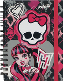 Блокнот А6, 80 л., спираль,  Monster High-2, Kite от Kite