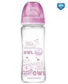 Бутылочка антиколиковая EasyStart Чистое стекло (розовый), 330 мл, Canpol babies, розов. от Canpol babies