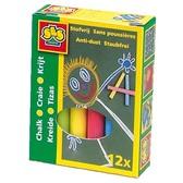 Набор цветных мелков - МАЛЫШ (12 цветов) от Ses (Ses creative)