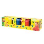 Пальчиковые краски - МОИ ПЕРВЫЕ РИСУНКИ (4 цвета, в пластиковых баночках) от Ses (Ses creative)