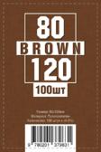 Протекторы для карт 80 х 120 мм