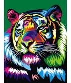 Радужный тигр  30 х 40 см