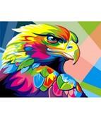 Радужный орел  30 х 40 см