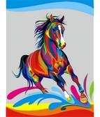 Радужный конь 30 х 40 см
