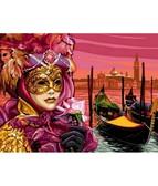 Венецианская маска  30 х 40 см
