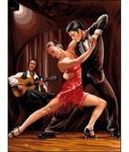 В ритме танго  30 х 40 см