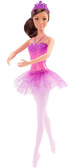 Кукла Барби-балерина, брюнетка в фиолетовом, Barbie, Mattel, фиолетовая