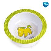 Глубокая тарелка из меламина на присоске с салатовой лошадкой, Canpol babies, лошадь от Canpol babies