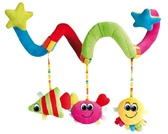 Плюшевая подвеска-спираль Разноцветный океан, Canpol babies, рыбка, солнышко, звезда от Canpol babies