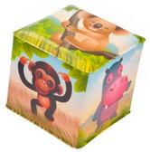 Игрушка-кубик Африка с колокольчиком, Canpol babies, Африка от Canpol babies
