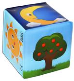 Игрушка-кубик Природа с колокольчиком, Canpol babies, природа от Canpol babies