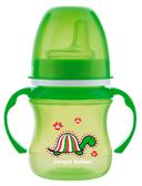 Кружка тренировочная, зеленая, 120 мл, Canpol babies, зеленая, черепаха от Canpol babies