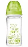 Бутылочка антиколиковая EasyStart Чистое стекло (салатовый), 240 мл, Canpol babies, салатовый от Canpol babies