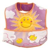 Слюнявчик Солнце с карманом, Canpol babies, розовый, солнышко от Canpol babies