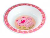 Тарелка пластиковая глубокая Smile с котиком, Canpol babies, кошечка от Canpol babies